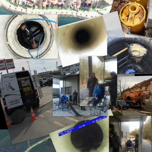 Čišćenje i pumpanje cjevovoda